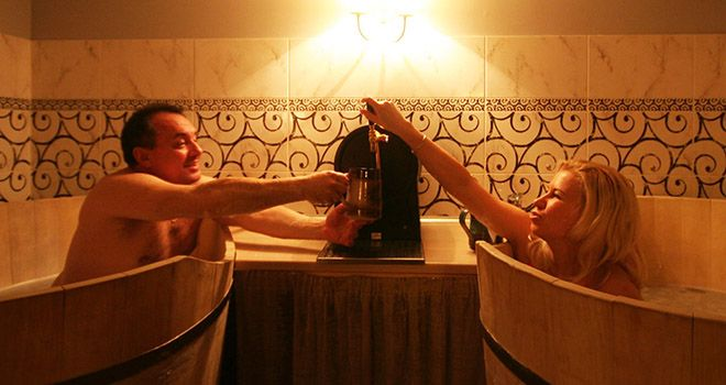 beer spa in riga