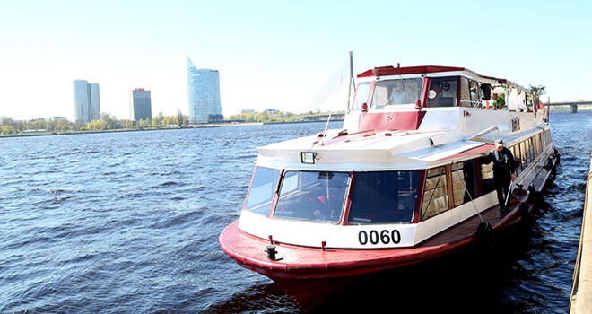 daugava river cruise ship
