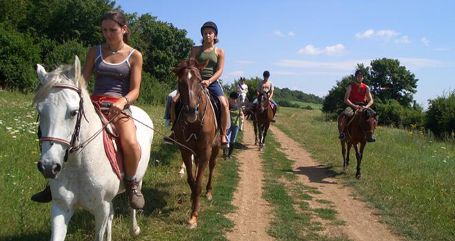 horse riding in riga