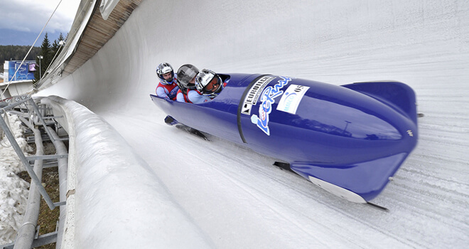 bobsleigh in riga