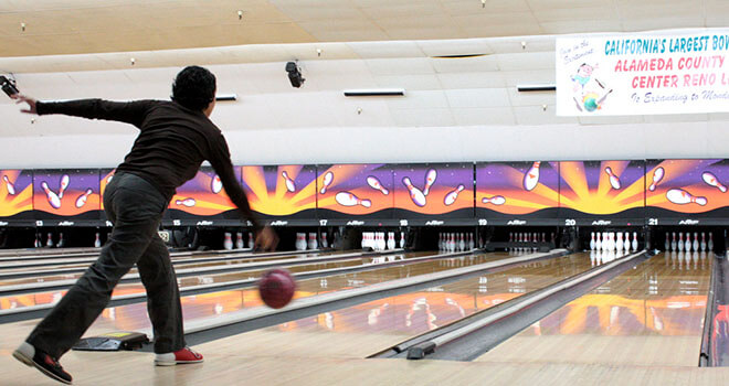 bowling game in riga