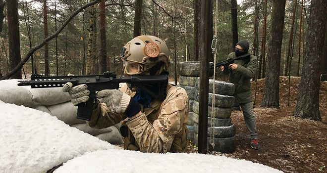airsoft game in riga for groups