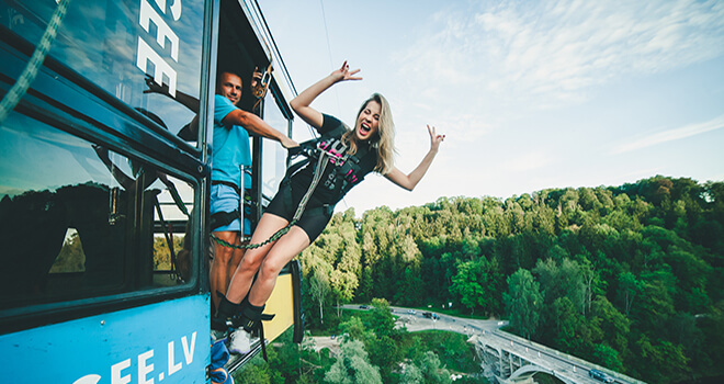 bungee jumping in riga
