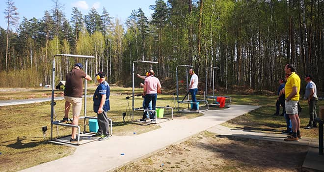riga clay pigeon shooting