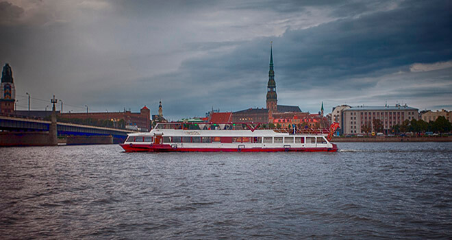 boat daugava rent tickets
