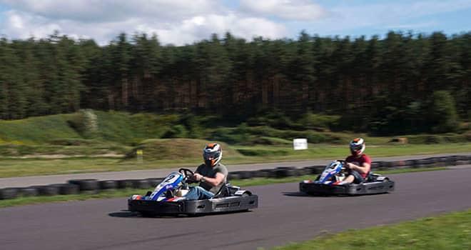 Outdoor Go Kart Racing in Riga | Red Fox Tours