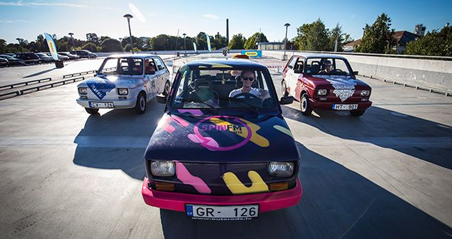retro rally in riga