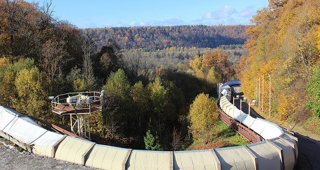 real bobsleigh ride